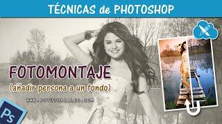 getlinkyoutube.com-Como hacer un fotomontaje - Photoshop Tutorial Español
