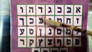 getlinkyoutube.com-curso  de Hebreo FACIL; ABECEDARIO = ALEF BET