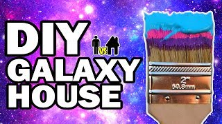 We Painted Our House Galaxy!!! Man Vs House Ep.#6