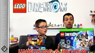 MEGA JOUETS & JEUX VIDEO ! LEGO Dimensions unboxing & Gameplay | Family Geek