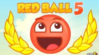 getlinkyoutube.com-Red Ball 5 Walkthrough All Levels 3 Stars!