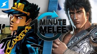 getlinkyoutube.com-One Minute Melee - Jotaro Kujo Vs Kenshiro (JoJo's Bizarre Adventure vs Fist of the North Star)