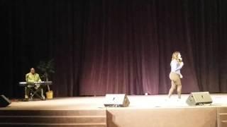 """getlinkyoutube.com-Keke Wyatt singing """"His eyes are on the sparrow"""""""