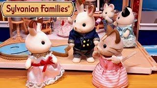 getlinkyoutube.com-Кто живёт с кроликом Марией? Все серии подряд. Мультик с игрушками Sylvanian Families + обзоры