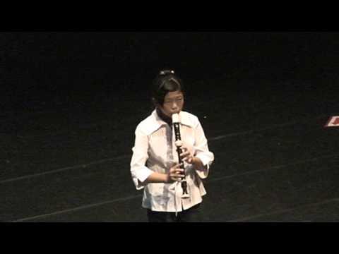 下楫國小陳湘菱101年度音樂比賽直笛獨奏