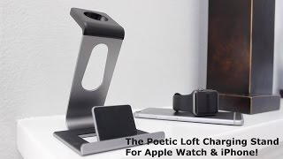 getlinkyoutube.com-Apple Watch Charging Stand | Poetic Loft!