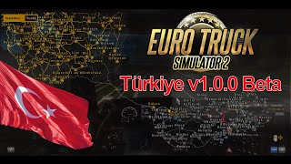 getlinkyoutube.com-Euro Truck Simulator 2 Türkiye Harita Modu v1 - Beta