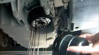 getlinkyoutube.com-Oil Change and Oil Filter Change. Volvo S40 V40
