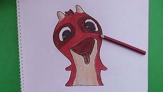 Como dibujar y pintar a Versatil (Bajoterra) - How to draw and paint Versatil