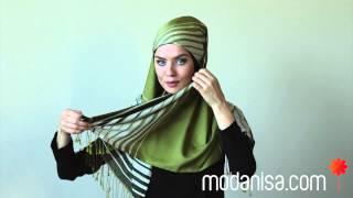 getlinkyoutube.com-Modanisa.com- Pratik Şal Bağlama Vİdeoları