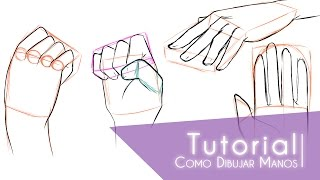 getlinkyoutube.com-Tutorial ۰•●Como dibujar manos●•۰