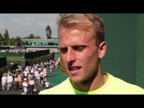 Wimbledon 2014 Tuesday Interview Kudla