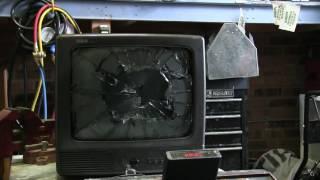 getlinkyoutube.com-Small CRT TV Smash