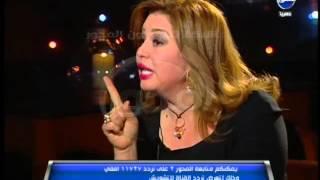 getlinkyoutube.com-#العاصمة: الهام شاهين : مبارك اتظلم - شكرت الرئيس مبارك و حرمه وجمال مبارك ولازلت وهفضل لآخر وقت
