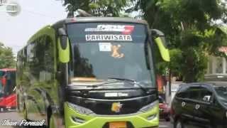 getlinkyoutube.com-[MOMENT] Telolet Rombongan 7 unit Subur Jaya