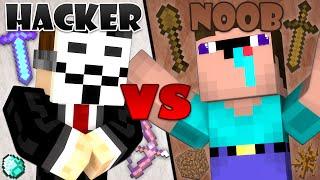 getlinkyoutube.com-Hacker vs. Noob - Minecraft