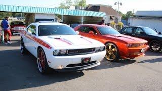 getlinkyoutube.com-WhipAddict: Show Time Ryders Car Club: 24s, 26s, 28s, 30s, Custom Cars