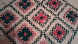 getlinkyoutube.com-تعليم الطرز التركي بطريقة الشبكة tarz torki Arab Embroidery