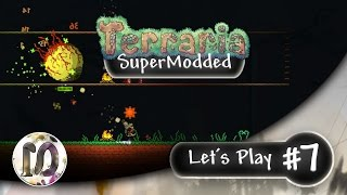 getlinkyoutube.com-Terraria 1.3.4 Expert SuperModded Let's Play #7 - Thorium, Calamity, Tremor