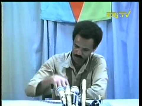 Eritrea - Isaias Afewerki in the 1980's.
