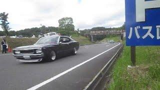 getlinkyoutube.com-旧車 加速サウンド 330セドリック R32 ブタケツ ケンメリ ハコスカ ヤンキーホーン