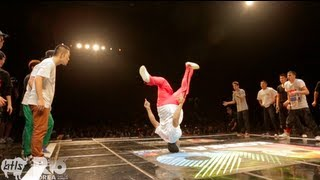 getlinkyoutube.com-Massive Monkees vs Jinjo Crew | R16 BBOY Battle 2012 | YAK FILMS