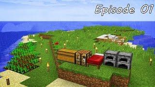 getlinkyoutube.com-Minecraft เอาชีวิตรอด -  Episode 01 - เอาชีวิตรอดในวันแรกให้ได้