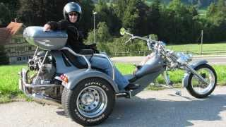 Rewaco HR6 Harley V-Twin Trike! 1080p HD