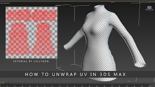 How to unwrap UV in 3Ds Max