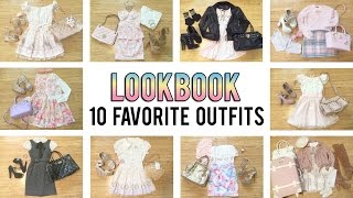 getlinkyoutube.com-Lookbook - 10 favorite outfits [Emiiichan]