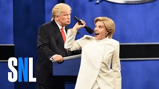 getlinkyoutube.com-Donald Trump vs. Hillary Clinton Third Debate Cold Open - SNL