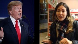 getlinkyoutube.com-Racist Woman Has Trump Rant At Michael's (Chat Show)