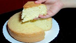 getlinkyoutube.com-Sponge Cake without Oven - Basic Soft Sponge Cake - Pressure Cooker Sponge Cake Recipe