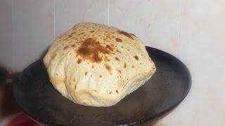 getlinkyoutube.com-Soft chapati recipe  in tamil [ With tips] fluffy chapati on tawa