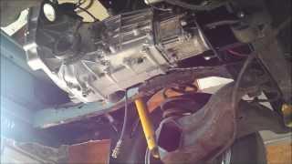 getlinkyoutube.com-Subaru 5 speed transmission in a Vanagon (part 3 and last one)