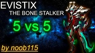 getlinkyoutube.com-Heroes of Order and Chaos: Evistix! Gameplay 5vs5