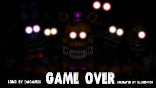 getlinkyoutube.com-[SFM FNAF 4 SONG] Game Over [FULL]