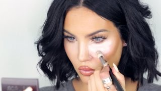 getlinkyoutube.com-Natalie Halcro Tutorial | UNDER EYE HIGHLIGHT