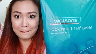 getlinkyoutube.com-WATSONS HAUL! Makeup Galore!