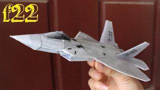 getlinkyoutube.com-Membuat pesawat F 22 Raptor | Kertas 3D pesawat