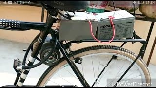 how to make electric bike at home part-1