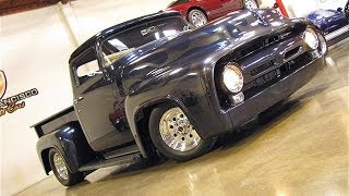 getlinkyoutube.com-Custom 1956 Ford F100 Pickup for Sale with 550+ hp 427