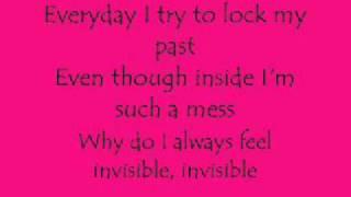Skylar Grey - Invisible (Lyrics on Screen)