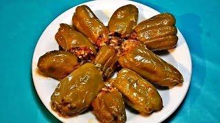 getlinkyoutube.com-طريقة عمل محشي الفلفل،  مطبوخ على الغاز : المطبخ التونسي -  Tunisian Cuisine