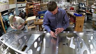 getlinkyoutube.com-Building the Zenith CH 750 Cruzer kit airplane: Part Three: Top Wing Skins