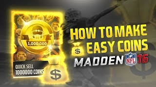 getlinkyoutube.com-FASTEST WAYS TO MAKE COINS IN MADDEN MOBILE 16!