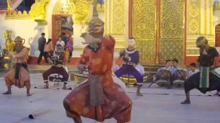 พร้อมพันธ์TVการรำนางแก้วชาวหลวงพระบาง สปป ลาว ในงานนมัสการพระธาตุพนม ปี 58