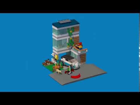 LEGO City Family House - 60291