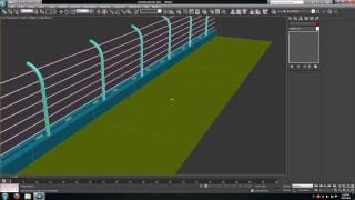 getlinkyoutube.com-#3   3ds max tutorial   Race track   Modeling