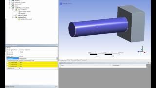 getlinkyoutube.com-ANSYS Explicit Dynamics(zetha)-Simular el impacto de la varilla en una placa  .wmv